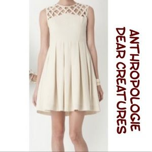 Anthropologie Dear Creatures fit n flare Dress